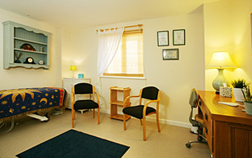 Treatment Room for hire New Body Barn Devizes 1
