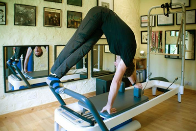 Andy on the reformer