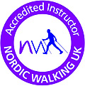 Nordic Walking Acredited Instructor logo
